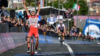 Giro: Masnada vince la 6/a tappa