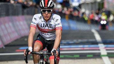 Giro: Conti è la nuova maglia rosa