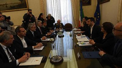 Salvini al Comitato per Ordine Pubblico