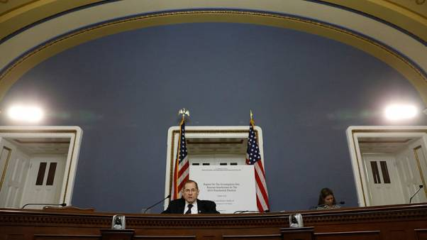 Democrats read Mueller report aloud in U.S. Capitol hearing room