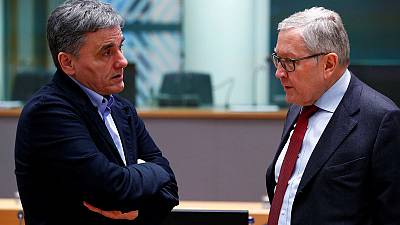 Euro zone worried Greek spending plans may threaten surplus target