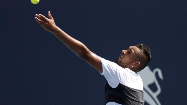 استبعاد كيريوس من بطولة ايطاليا المفتوحة مع وصول الثلاثة الكبار لدور الثمانية