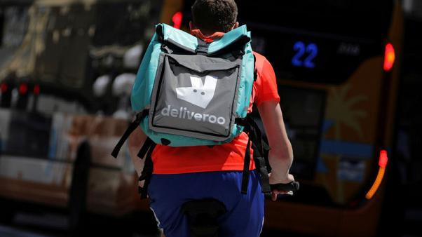 Amazon close to buying a stake in UK's Deliveroo - Sky News