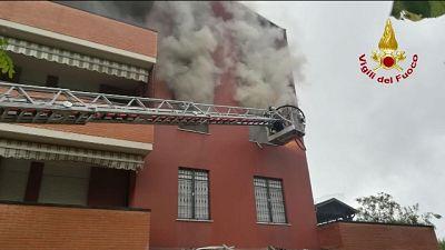 Incendio in casa nel Bresciano, 1 morto