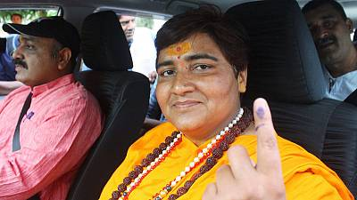 India's Modi chooses woman facing terrorism charges as election candidate