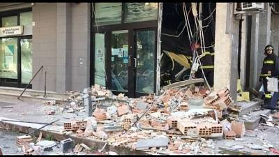 Bomba contro bancomat BPN a Foggia