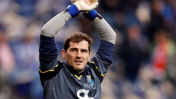 Goalkeeper Casillas set to retire after heart attack - report