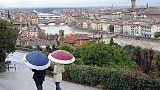 Maltempo: codice giallo in Toscana