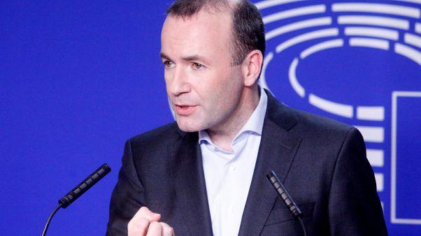 Pumping up the volume, conservative runs glitzy EU campaign