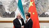 """A Pékin, l'Iran réclame """"des actes"""" pour sauver l'accord nucléaire"""