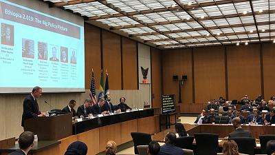 "U.S. State Department hosts ""Ethiopia Partnership Forum"""