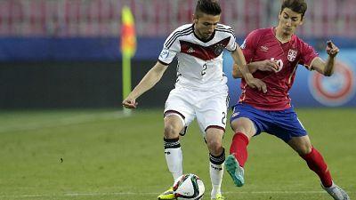 Calcio, Germania U21 ritiro in A.Adige