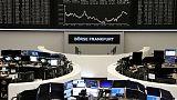 النزاع التجاري بين أمريكا والصين يلقي بظلال ثقيلة على الأسهم الأوروبية