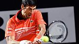 Tennis:Del Potro ko, Djokovic semifinale