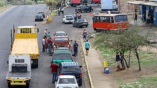 Angry Venezuelans wait hours for fuel as shortages worsen