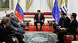 """Venezuela: Maduro célèbre """"le début des discussions"""" avec l'opposition à Oslo"""