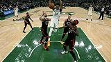 NBA: Milwaukee ne perd pas de temps face à Toronto
