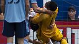 إيقاف إبراهيموفيتش بسبب تصرف عنيف خلال فوز لوس أنجليس جالاكسي