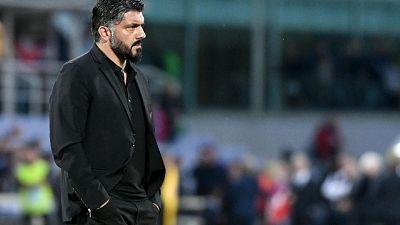 """Milan, Gattuso """"padroni nostro orgoglio"""""""