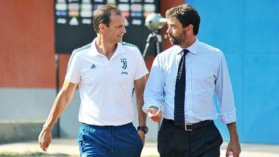 """Juve, Agnelli """"un allenatore ci sarà..."""""""