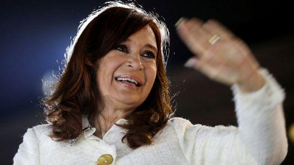 Cristina Fernandez takes surprise back seat in Argentine presidential race