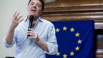 Renzi, se governo cade si va a elezioni