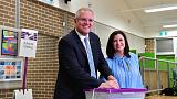 Australian PM Morrison celebrates unexpected election victory