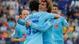 Camello offers glimpse of bright Atletico future as Griezmann, Godin depart