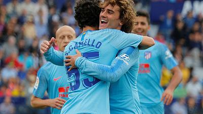 Camello offers glimpse of bright Atletico future as Griezmann, Godin depart