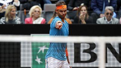 Tennis: Nadal,'felice per finale Roma'