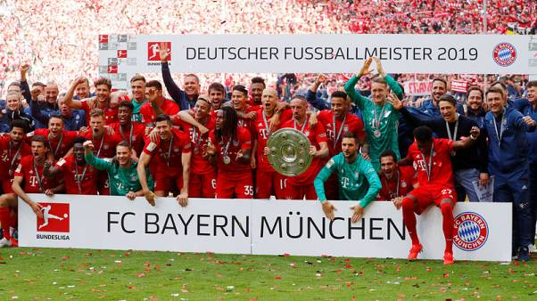 Bayern Munich win Bundesliga title for seventh successive season