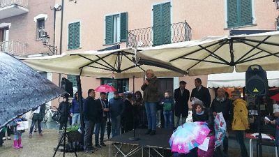 Parco Racconigi,flash mob per riapertura