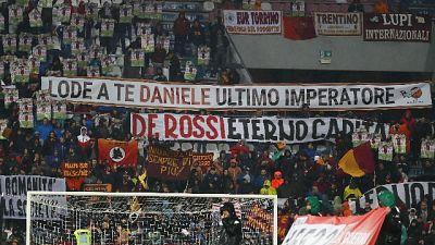 Roma, cori per De Rossi e anti-Pallotta