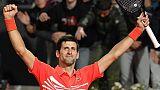 Tennis: le classique Nadal-Djokovic en finale à Rome