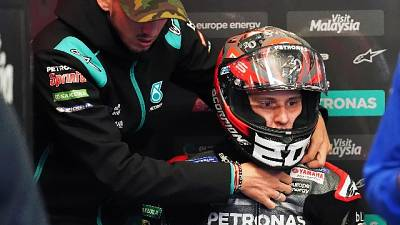 Motogp, Francia, a Quartararo il warm up
