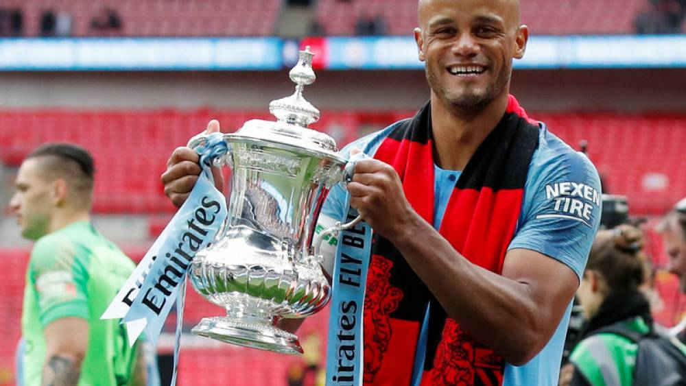 Image result for Vincent Kompany leaves Manchester City to become Anderlecht player-manager