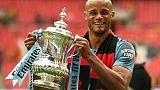 Kompany annonce son départ de Manchester City