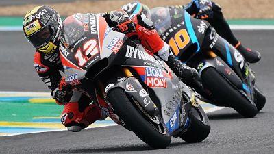 Moto2, in Francia vince Alex Marquez