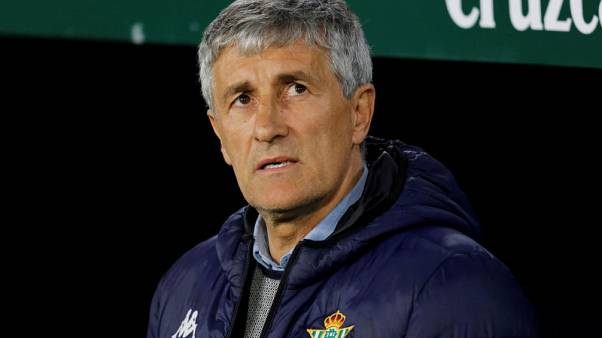 Betis coach Setien to leave club after beating Real Madrid