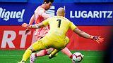 ميسي يرفع حصيلته إلى 36 هدفا لكن برشلونة يتعادل مع إيبار