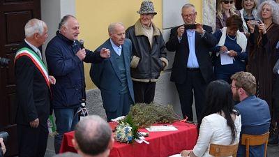 'Matrimonio antifascista' davanti a Anpi