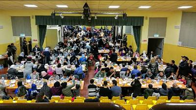 Piove, parrocchia ospita cena islamica