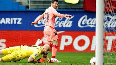Messi chiude Liga con una doppietta