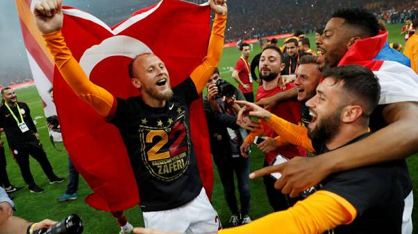 Galatasaray win 22nd Turkish title after beating closest rival