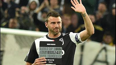 Juve: Barzagli lascia, standing ovation