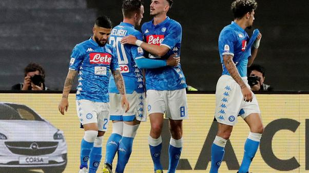 Napoli leave Inter's Champions League hopes in the balance