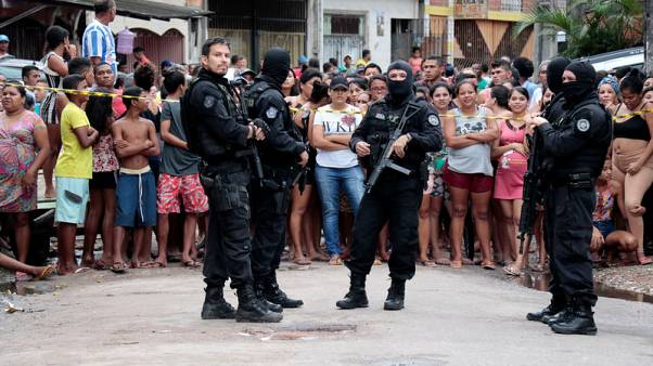 Armed group kills 11 in a bar in northern Brazil