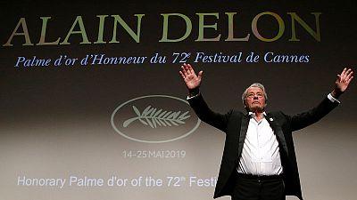 تكريم الممثل الفرنسي ألان ديلون في مهرجان كان السينمائي
