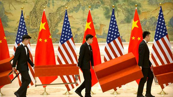 Year-old Xinhua alert spreads proclaiming U.S.-China trade row ceasefire