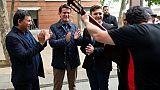 Manuel Valls en campagne de la dernière chance à Barcelone